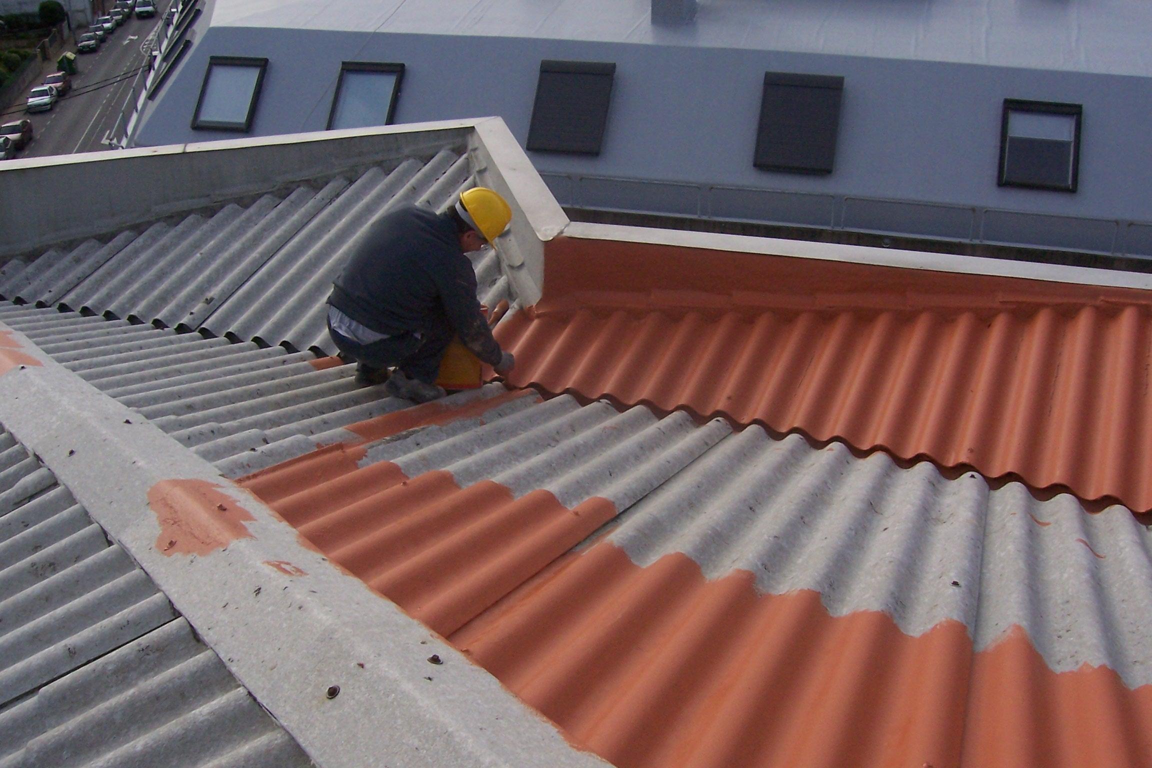 Reformas tejado avda che guevara sta cristina a coru a - Cubiertas de tejados ...